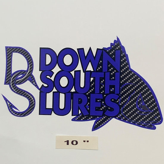 """DSL 10""""Blue Decal"""