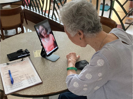 社區據點長輩諮詢回饋