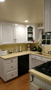 La Verne Farmhouse kitchen BEFORE the construction remodeling project
