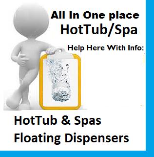 HotTub & Spas Floating Dispensers