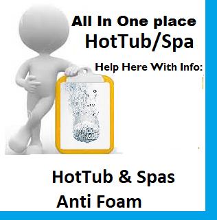 HotTub & Spas Anti Foam
