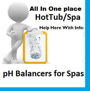 pH Balancers for Spas