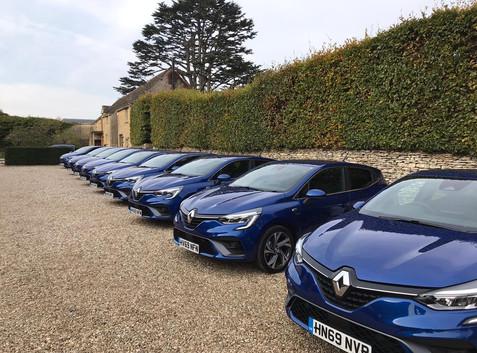 Renault Clio UK Launch