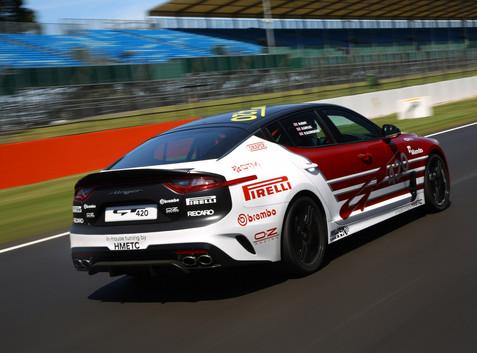 KIA Stinger GT420 Silverstone