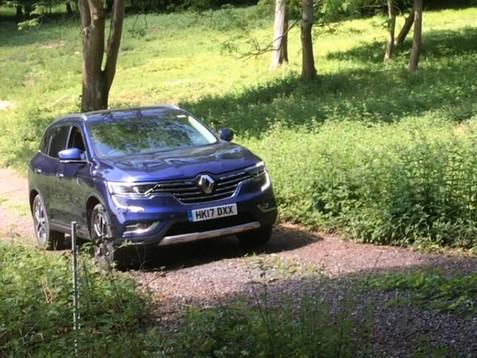 Renault Koleos Route Planning