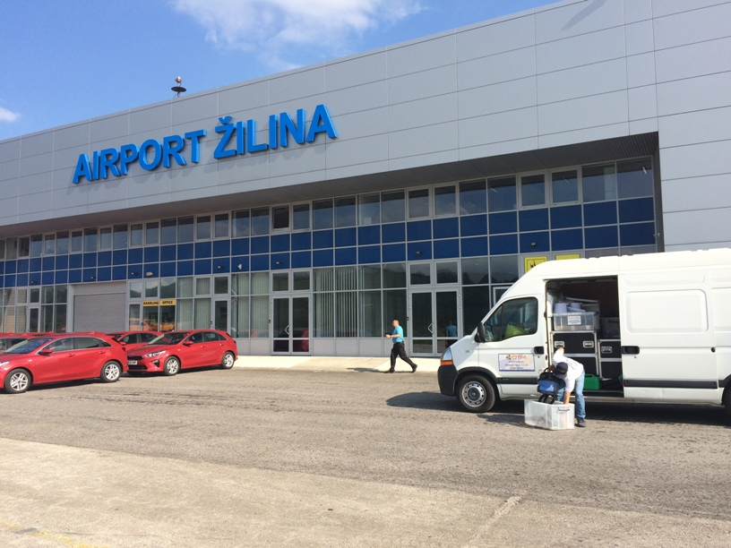 Zilina Airport Preparation