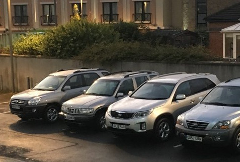 Oct 2018 - Kia's Heritage Fleet Grows