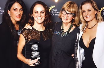 East Sydney Regional Chamber Award.jpg