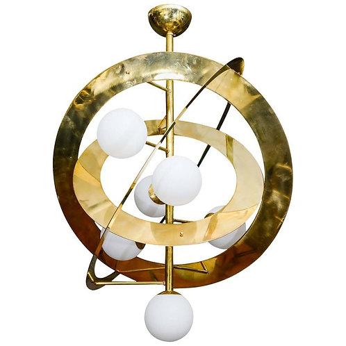 Saturn Chandelier by Glustin Luminaires