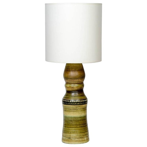 Tall Vallauris Ceramic Table Lamp