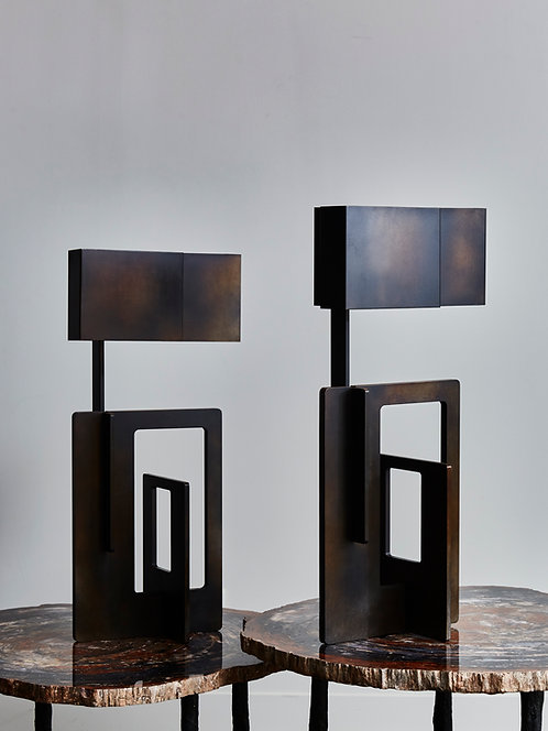 Pair of Kit Table Lamps by Esperia