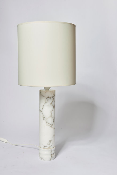 Pair of Bergboms Marble Lamps