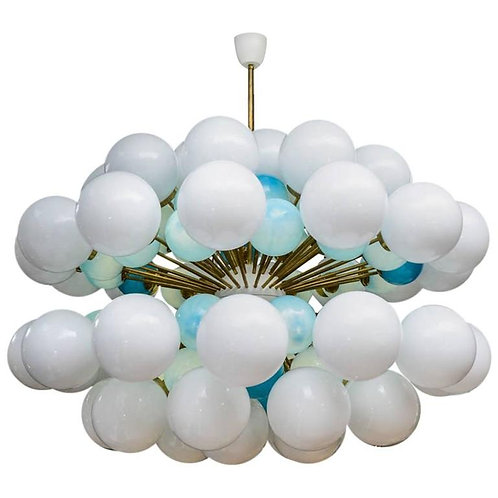 Cloud Sputnik Style Chandelier