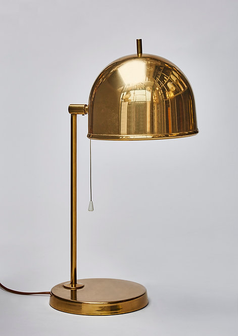 Pair of Brass B-075 Bergboms Table Lamps