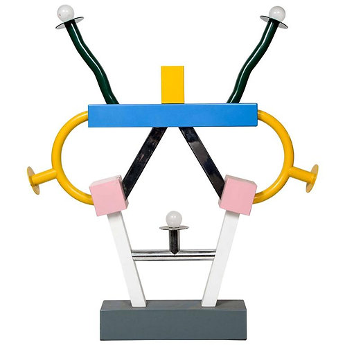 Colorful Ashoka Lamp by Ettore Sottsass for Memphis