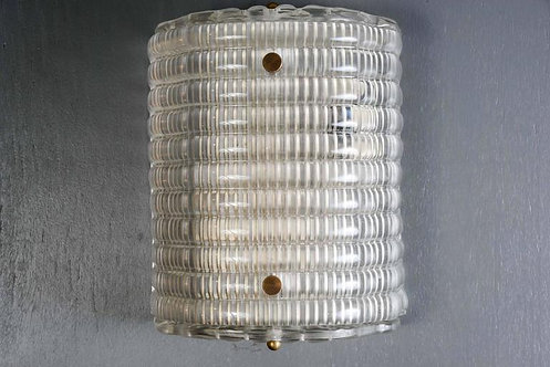 Simple and Elegant Murano Glass Wall Sconces