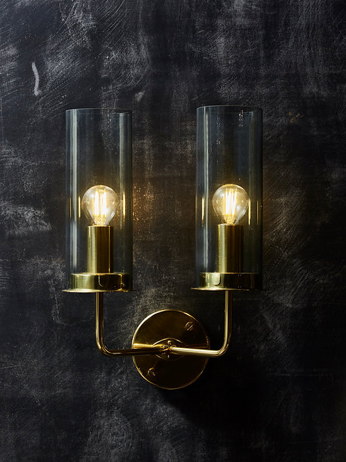 Pair of Hans Agne Jakobsson Two Lights Wall Sconces
