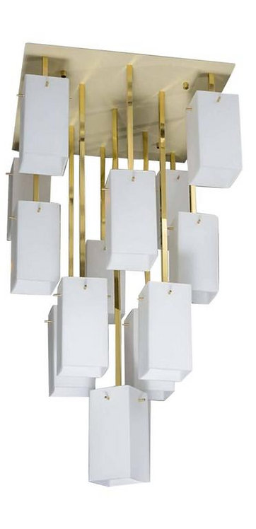 Metal, Brass and Glass Pendants
