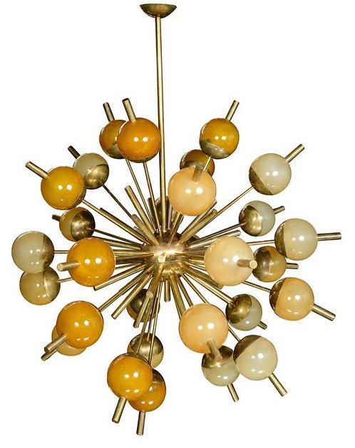 Colorful Sputnik Chandelier