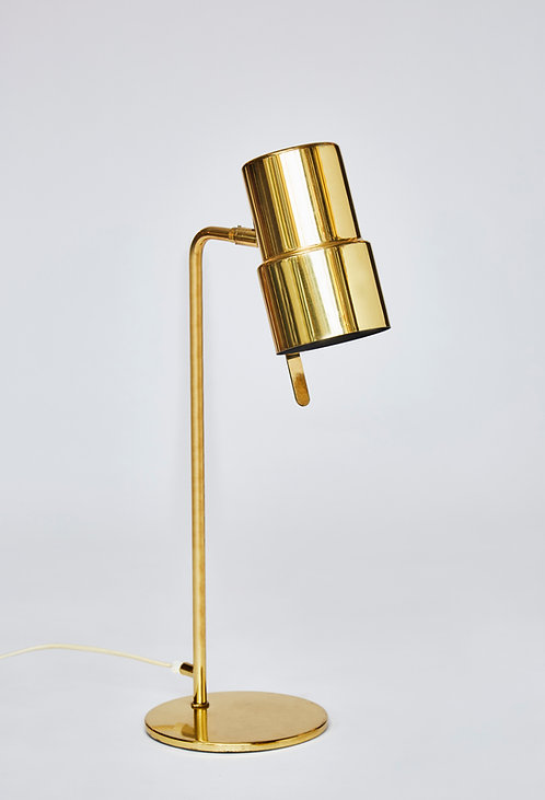 Pair of B195/2 Brass Table Lamps by Hans Agne Jakobsson