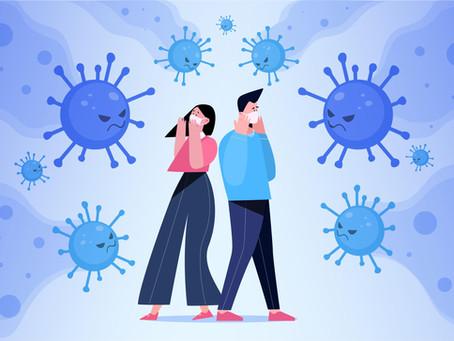 Comment les virus et bactéries se déplacent-ils dans l'air ?