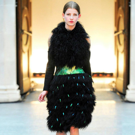 A look from Luke Archer's AW12 collection.