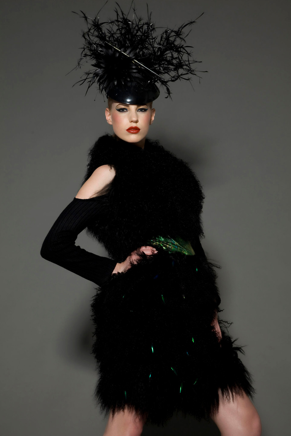 A look from Luke Archer's AW12 collection, Photograph by Emilia Valerio..