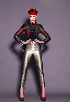 A look from Luke Archers 2012 Buprestidae collection, Photograph by Emilia Valerio.