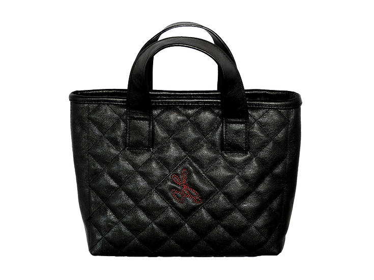 Classic Quilted leather Mini Tote bag.
