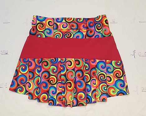 Back Pleat Style Skirt
