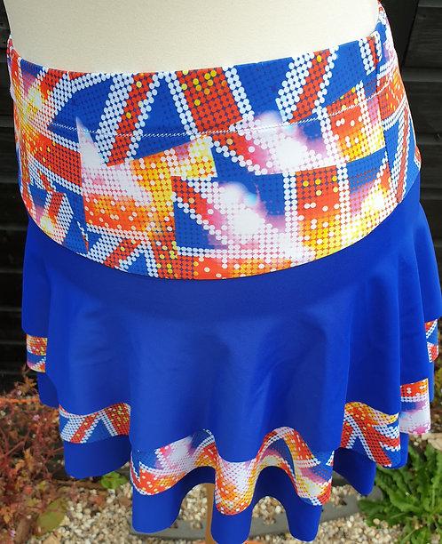 Three Tier Rah Rah Skirt