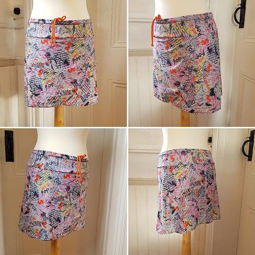 Wrapover Style Running Skirt