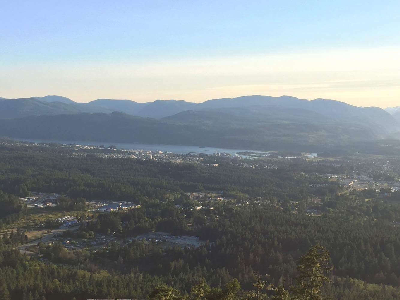 View of Port Alberni from Lookout