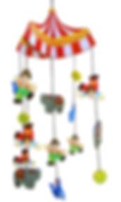 holzmobile mobile zirkzs baby kind zigzag zig zag swiss design for kids