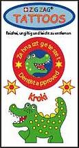 tattoo kroki zäheputzen zahnarzt motivation schule kindergarten zigzag zig zag swiss design for kids zürich zuerich