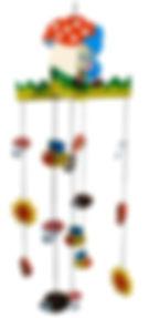 mobile holz zwerg zig zag zigzag swiss design for kids