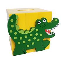 spardose krokodil kroki zigzag zig zag swiss design for kids holz zuerich zürich