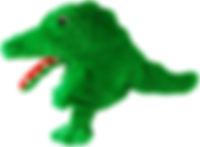 Handspielpuppe kroki zähneputzen zahn kindergarten schule zig zag zigzag swiss design for kids