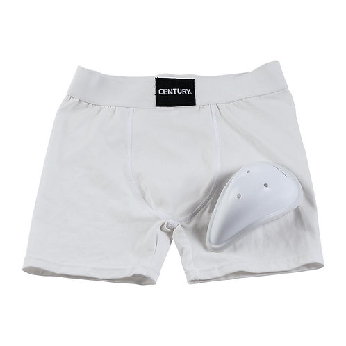 Youth & Peewee Boxer Brief with Cup