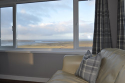 Living room- views across Birsay Bay (2)