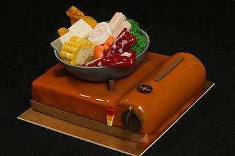 hot pot cake