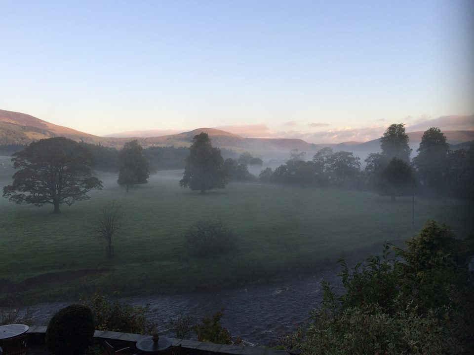 Sun rise Hodder Valley