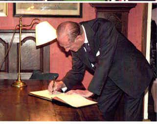The Duke of Edinburgh at The Inn at Whitewell
