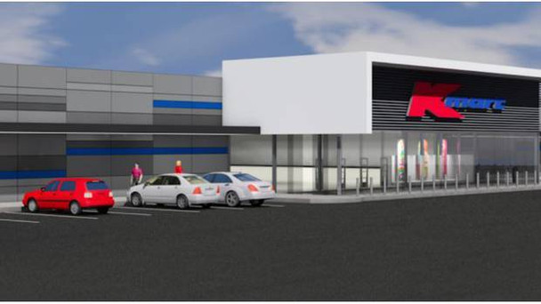 Building the Brand new K-Mart in Napier