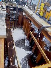 sheet piling for marine work