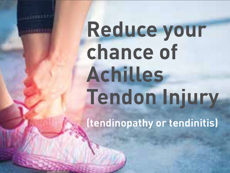 Protect your Achilles