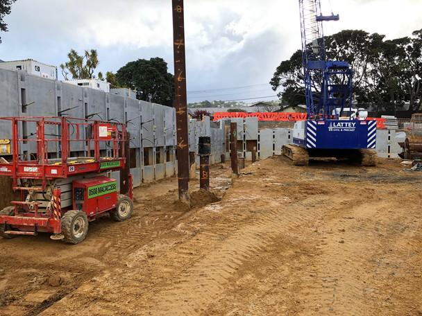 Wakefield Hospital - redevelopment well under way