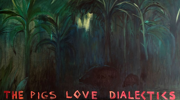 00 The Pigs 95x210 cm oil canvas 2018_ed