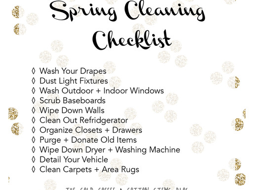 Spring Cleaning Physically + Spiritually