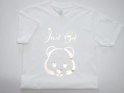 燙金印T-Shirt